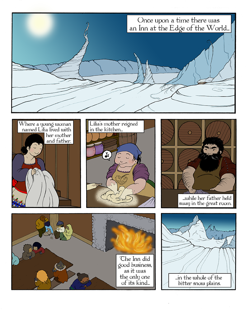 Iceheart Page 1
