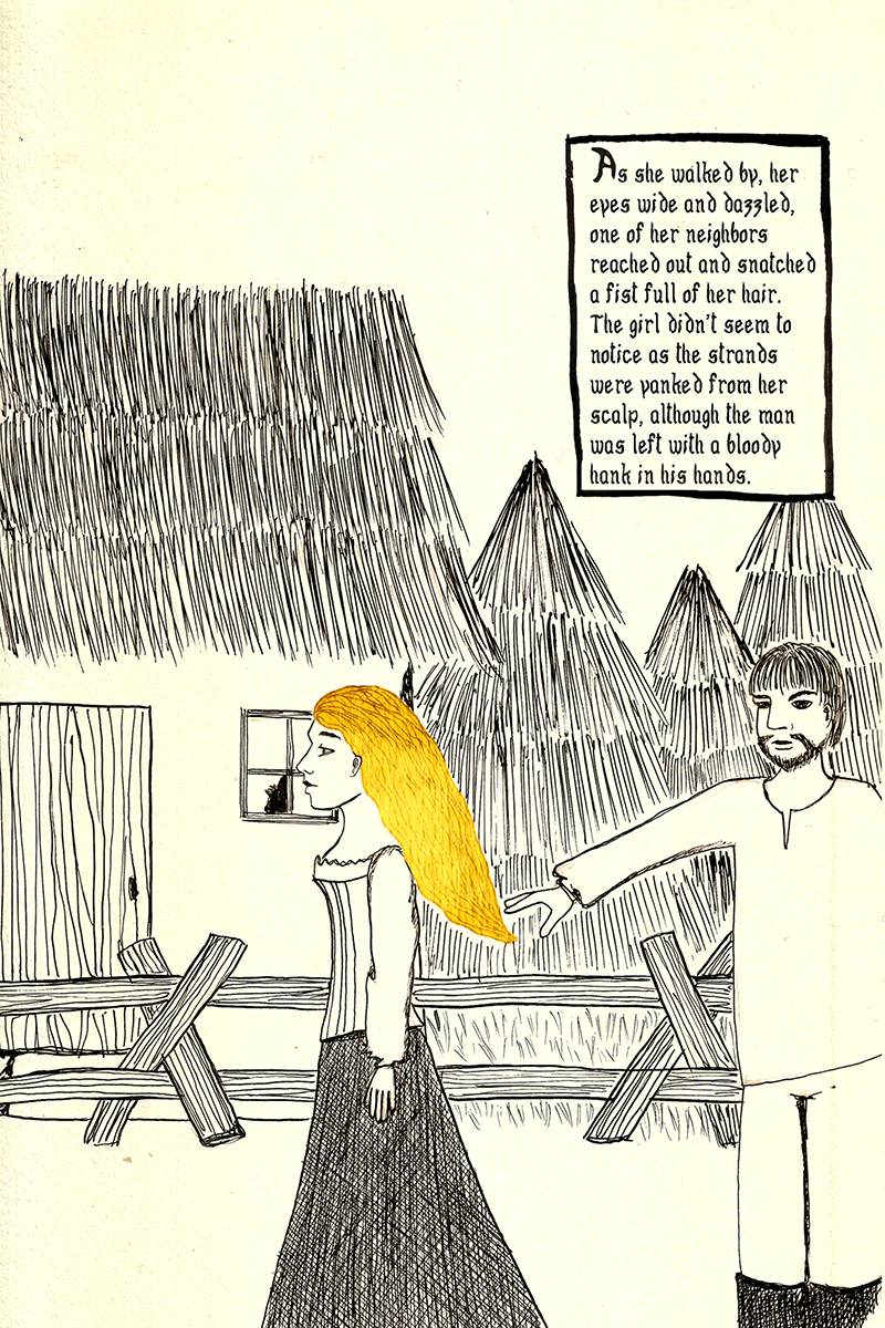 Girl with the Golden Hair Page 4