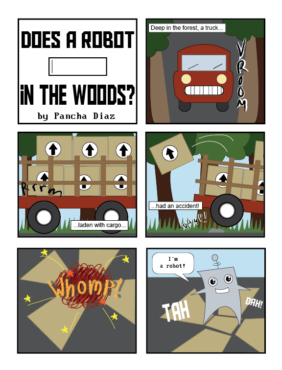 Does a Robot in the Woods? Page 1