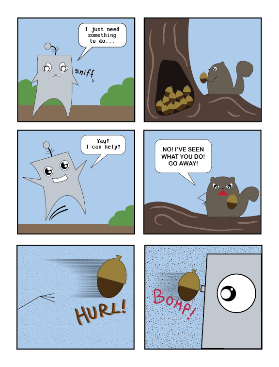Does a Robot in the Woods? Page 5